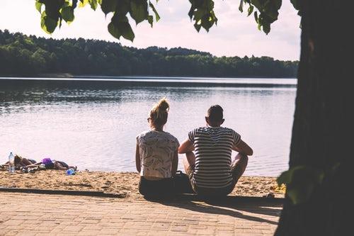 夏のデート