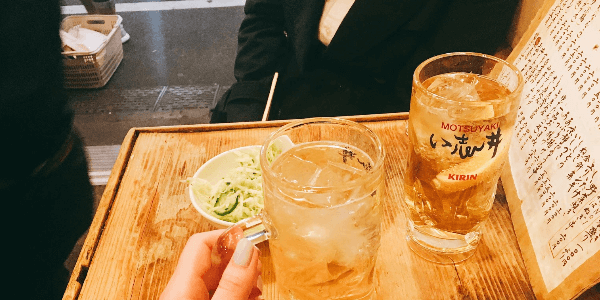 新宿三丁目の立ち飲み屋「日本再生酒場」