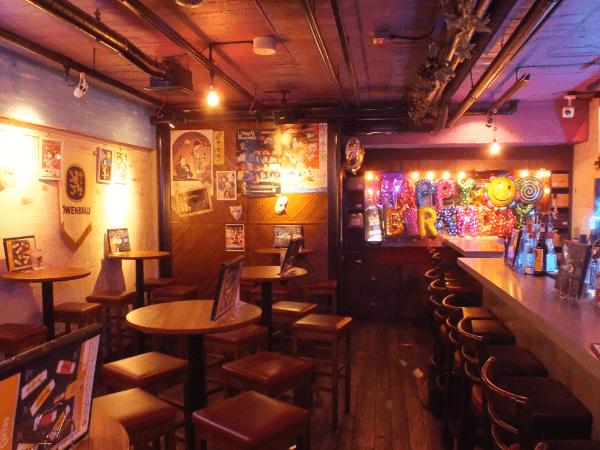 200yen bar moon walk 渋谷宮益坂店