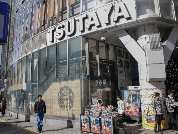 渋谷TSUTAYA前