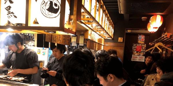 名古屋の立呑み魚椿