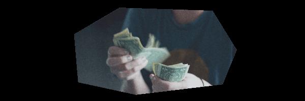 お金を払う