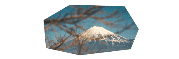 観光名所「富士山」